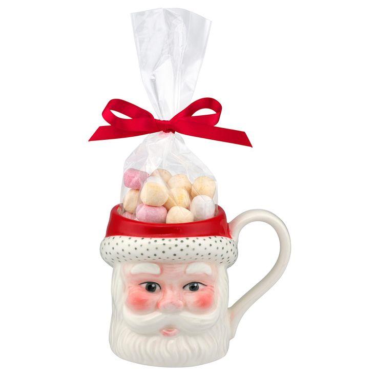 Santa Mug with Pear Drops | View All | CathKidston  #CKCrackingChristmas