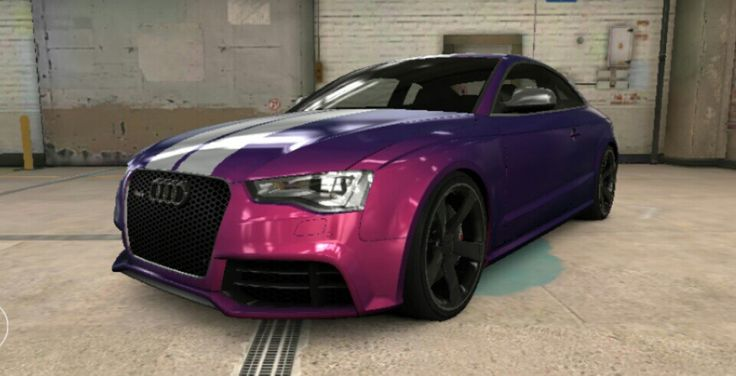 My nephews lit rs 5 coupe in csr 2