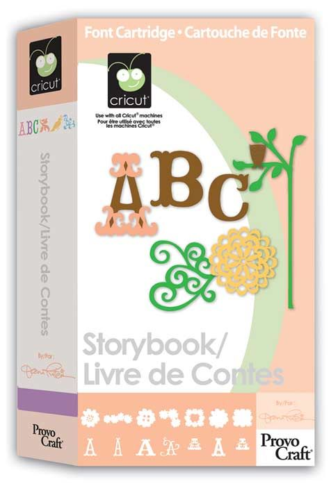 Storybook Cricut® CartridgeStorybook Cricut, Cricut Ideas, Storybook Cartridge, Cricut Cartridge, Fonts Cartridge, Cricut Storybook, Scrapbook, Cricut Carts, Crafts