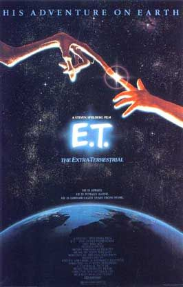 E.T., the Extra-Terrestrial - directed by Steven Spielberg (1982): Extra Terrestrial 1982, Film, Movie Posters, 80S, Childhood Memories, Extraterrestrial 1982, Steven Spielberg, E T, Favorite Movie