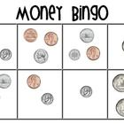 Money bingo is a great way for your students to practice finding the totals of different coin combinations.  Kids need to get 4 in a row or black o...