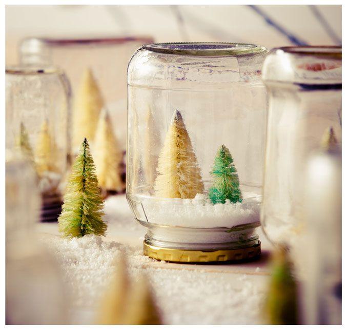 Mini Trees in Jars via Land of Nod