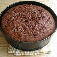 Receita de Bolo de Chocolate Funcional sem Glúten e sem Lactose