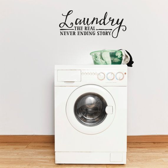 The Laundry Room Loads Of Fun  Laundry Wall Decal   Laundry Room Decal   Laundry  Room Decor   Removable Wall Decal   Vinyl Lettering   Home Part 83