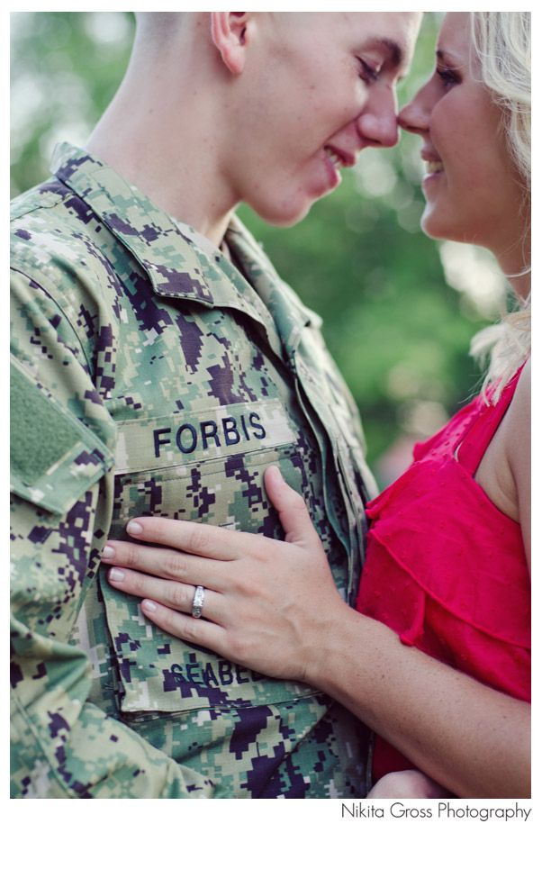 Showing ring, our future last name together, and the ring. Love it