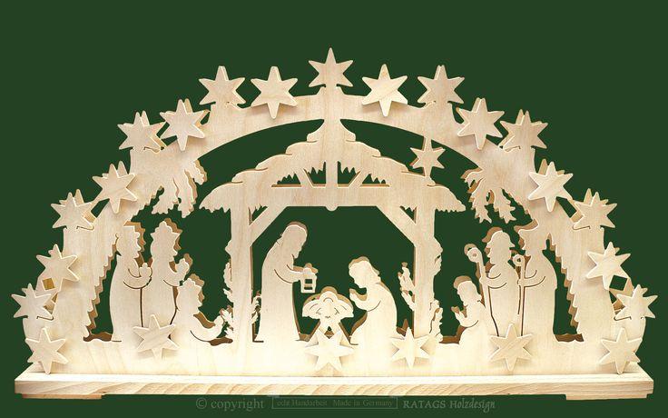Ratags Online Shop - Light arch lrg., Nativity scene