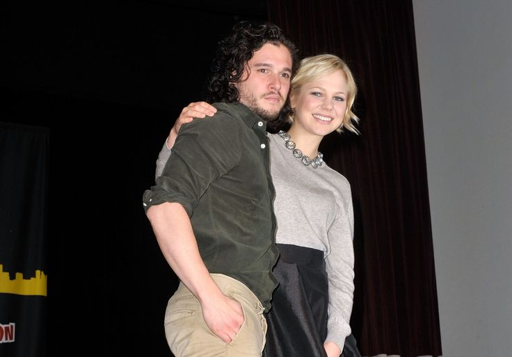 Adelaide Clemens and Kit Harington at an event for Silent Hill: Revelation 3D (2012)
