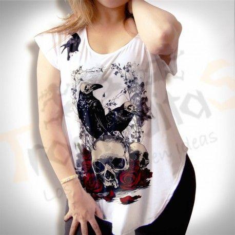 blusa nipon crows, te brinda personalidad y comodida