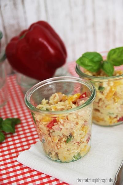 piepmatz: Rezept für Reissalat.