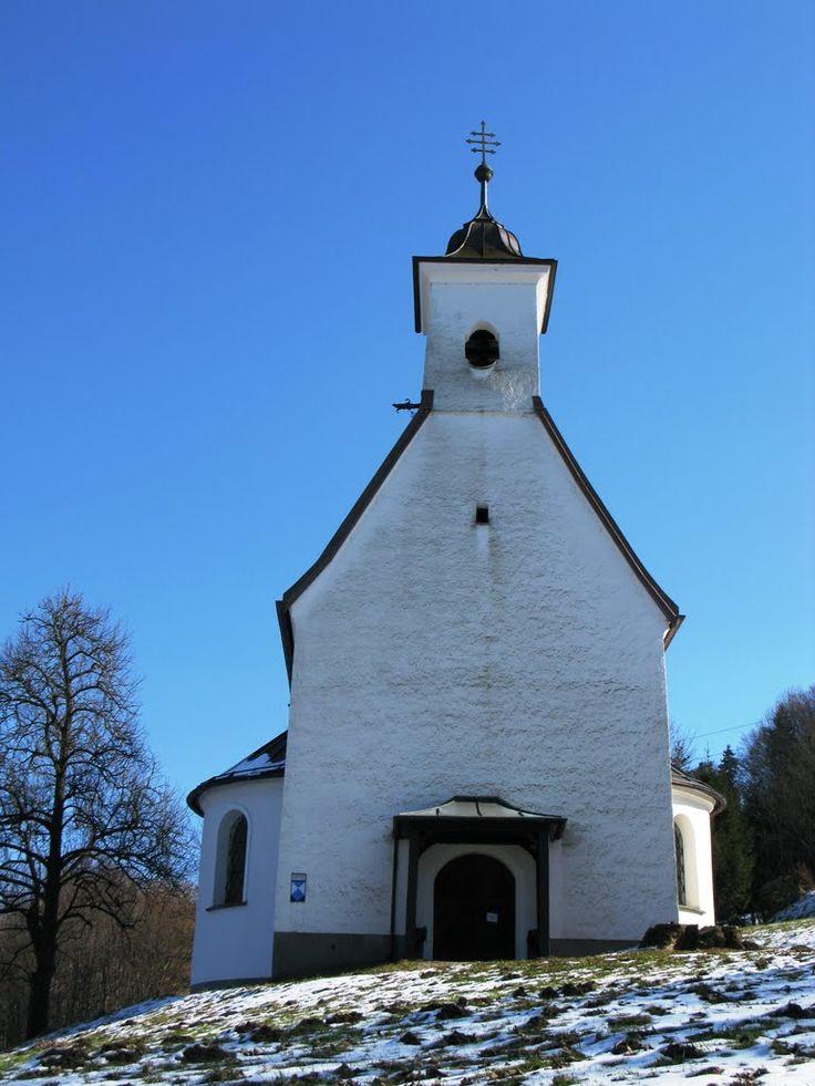 Nussdorf am Haunsberg-Lauterbach, Kirchlein zum Hl. Ägidius (oder Filialkirche Vierzehn Nothelfer)