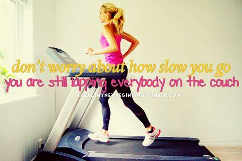 Hehehe so true, when I'm at training feeling super tired I think half effort is better then no effort!