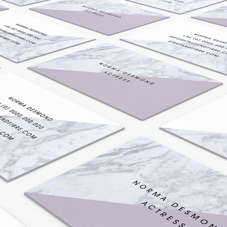 Desmond – one of our Texture business card templates available to customise and order on our site.