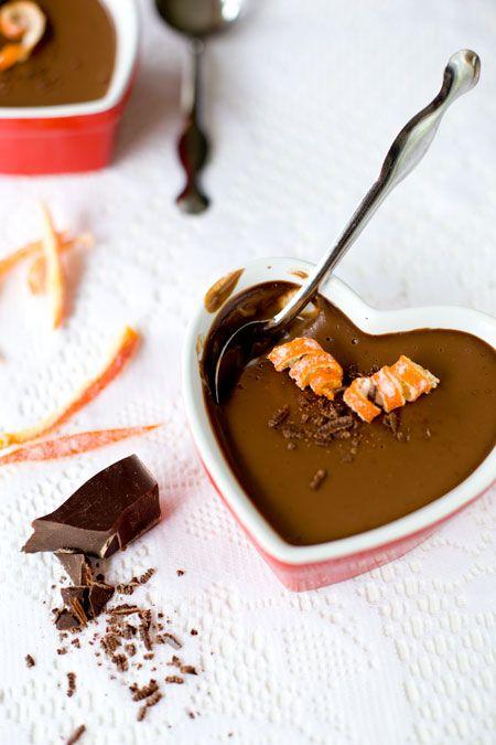 Orange chOcOlate pudding
