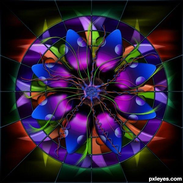 A Sunburst of Vibrant Colors!