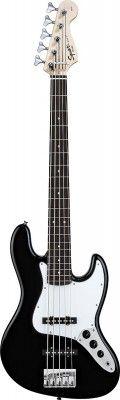 Fender Squier Affinity Jazz Bass V Rw Black