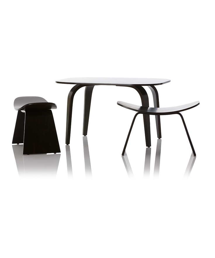 Espresso Hamachi Kid Table U0026 Chair Set