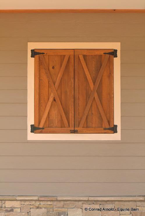 Barn Plans -10 Stall Horse Barn - Design Floor Plan