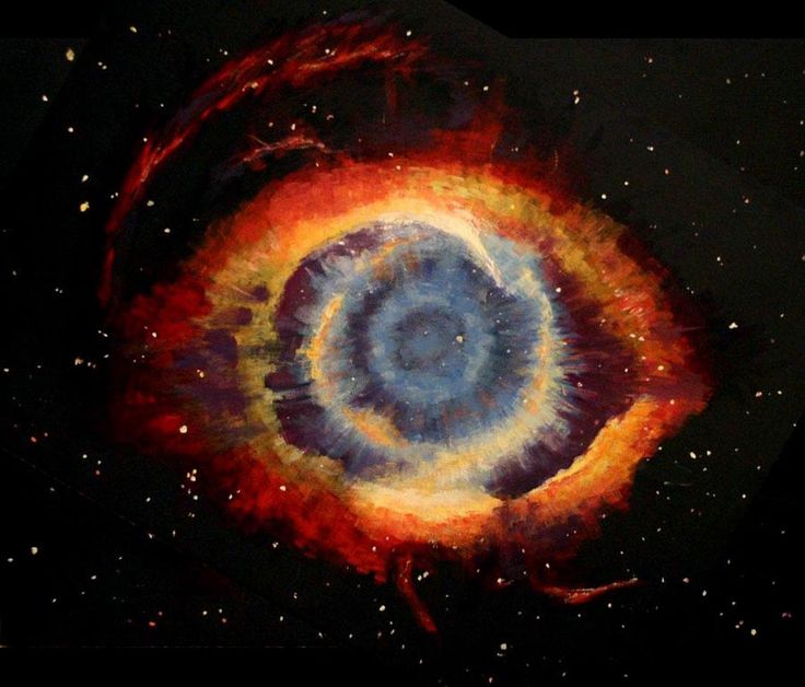 Helix Nebula 'Giant Eye' In Space Spotted By NASA Telescopes ...