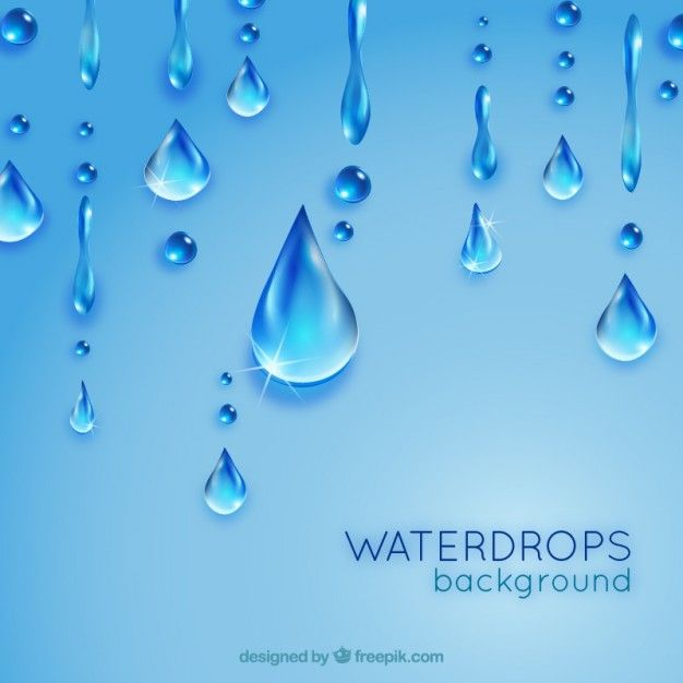 Free vector Waterdrops background #21449