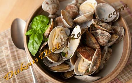 Dukan Garlic Clams