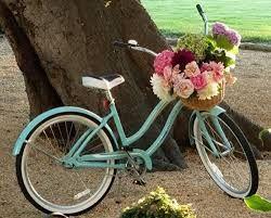 Decoración con bicicletas.