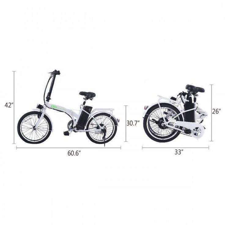 Foldable Electric Mountain  Bicycle Ebike Scooter 20'' Lithium Battery 250W 36V  #costway