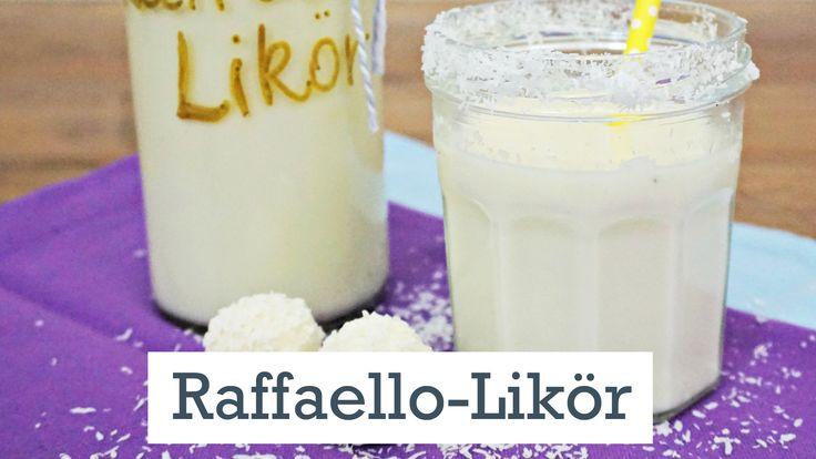 Machen Sie Ihren Liebsten eine Freude und verschenken Sie selbst gemachten Raffaello-Likör. Wie das genau geht, erklären wir hier.