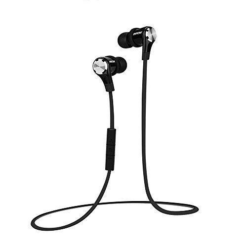 [Oreillette bluetooth 4.0 + 18 mois de garantie ] Casque bluetooth Mpow Petrel Oreillette Bluetooth stéréo sans fil avec Microphone, avec…