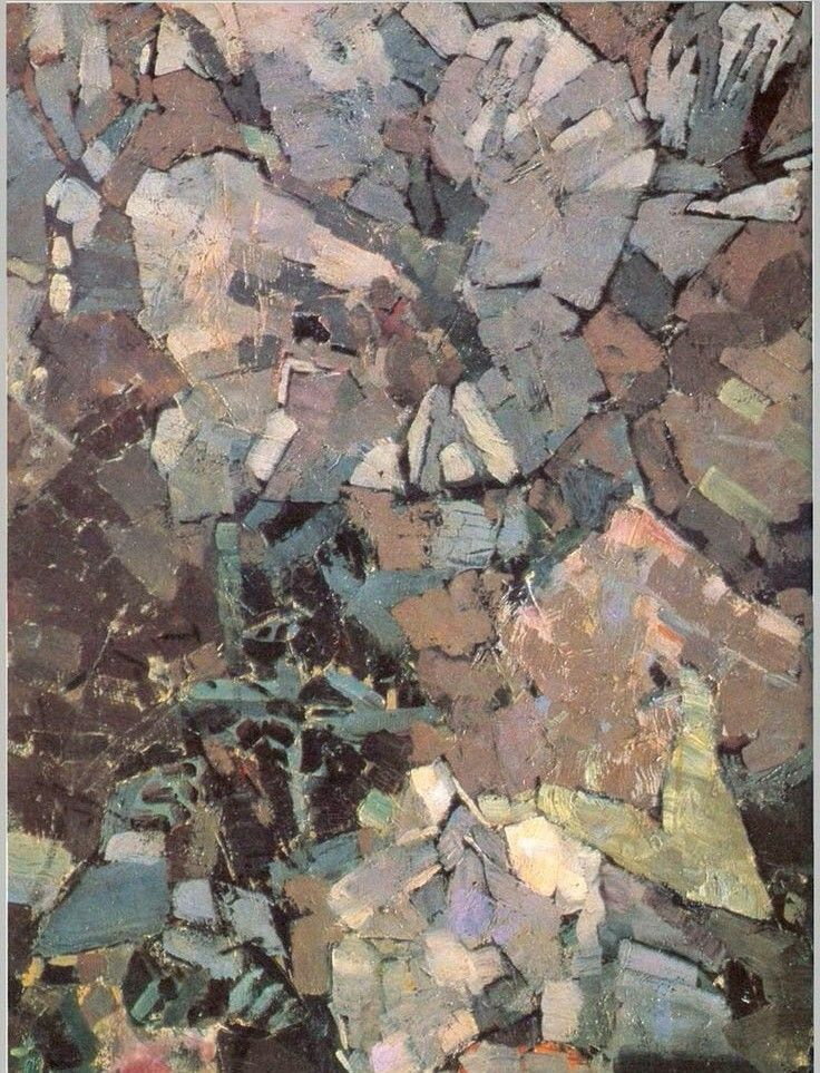 "fragment "" The Demon Seated"" Mikhail Vrubel"