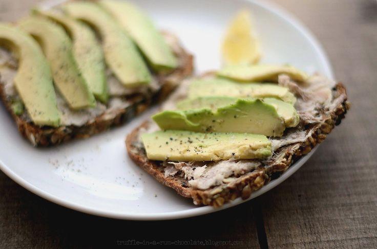 Trufla: Pasta z makreli + awokado...