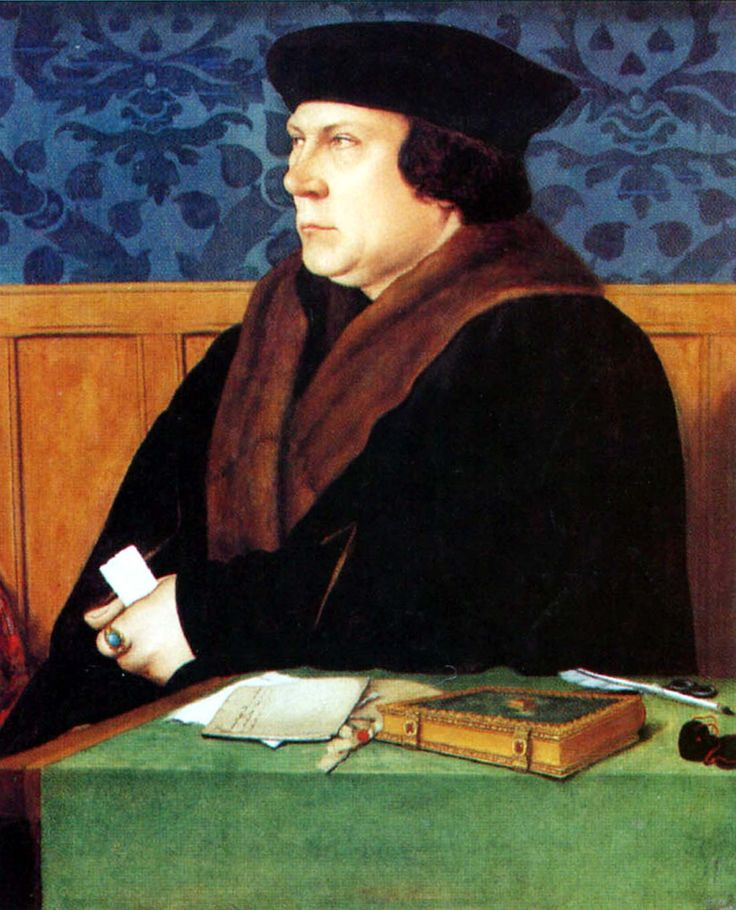 «Портрет Томаса Кромвеля». Ганс Гольбейн Младший. 1534 г.