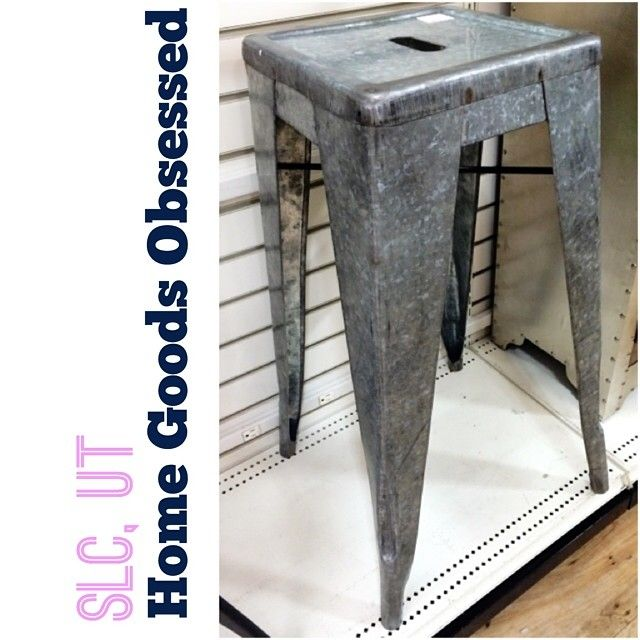 Galvanized steel stool for only  69 99  homegoods  homegoodshappy   homegoodsobsessed  interiors  decorate. 394 best Home Goods Obsessed images on Pinterest