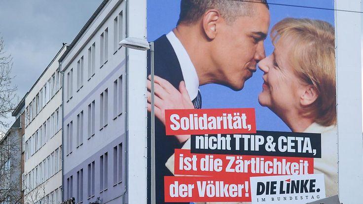 Das dubiose Freihandelsabkommen: So unbeliebt ist TTIP