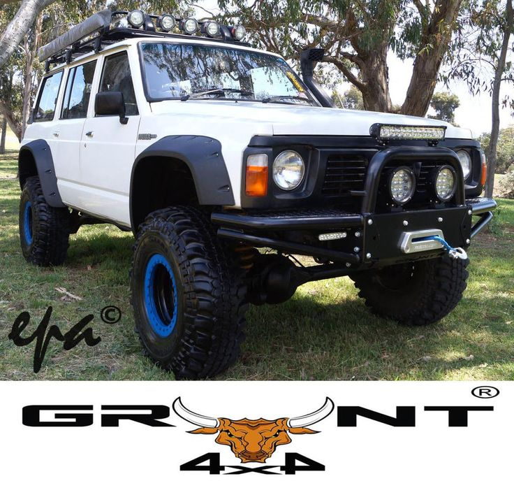 NISSAN GQ PATROL / FORD MAVERICK GRUNT 4X4 MONSTER WHEEL ARCH FLARES in Vehicle Parts & Accessories, Car, Truck Parts, Exterior | eBay!