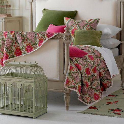Cobertor estampado #Decoración #Dormitorio