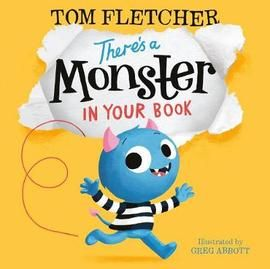 There's a Monster in Your Book: Tom Fletcher Book in Hardback. Book People