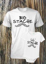 Mustache Shirt Father and Son Mustache Shirts Infant Mustache Shirt Stache Shirt