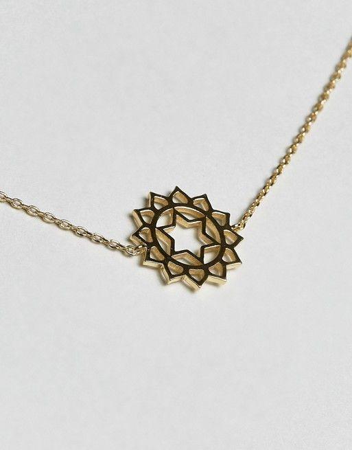 ce6c62c57fad Orelia Gold Plated Chakra Necklace