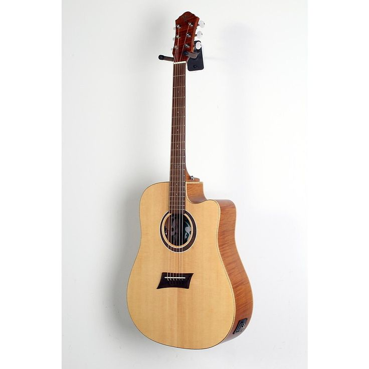 Michael Kelly Triad CE Dreadnought Cutaway Acoustic Electric Guitar Natural 190839068859