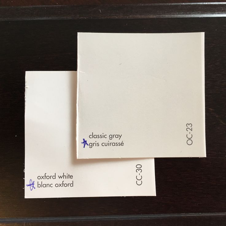 Benjamin Moore paint colours throughout (Oxford White for doors & trim)