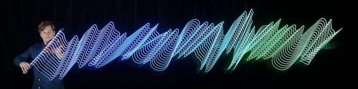 Photographer Uses LED Lights To Capture The Motions Of Musicians