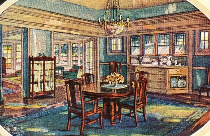 Alhambra Interior - as seen in the 1921 catalog. | 1920s ...