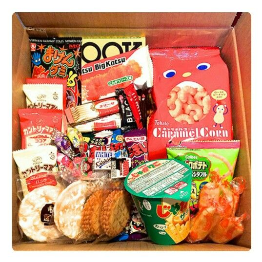Monthly Japanese Snack Box http://shikibox.com/candy---snack.html