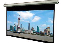 Pantalla para proyector de formato 16:9 de 353 X 198 cms
