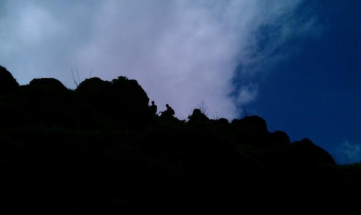 Silhouette at Kamalgad, Maharashtra