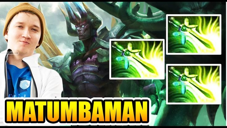 MATUMBAMAN Need Tripble Butterfly To FINISH - Dota 2 7.02