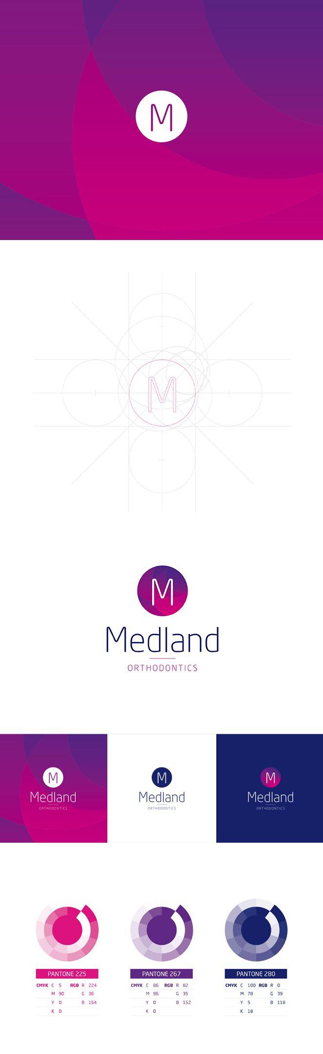 Medland Orthodontics Rebrand by Csquared Design