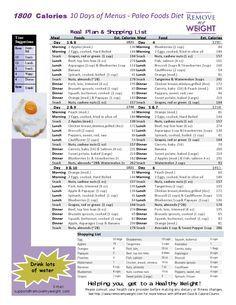 diätplan tabelle ausdrucken
