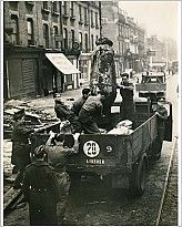 """10""""x8"""" (25x20cm) Print of ww2 removal of bomb from brixton hill london"""