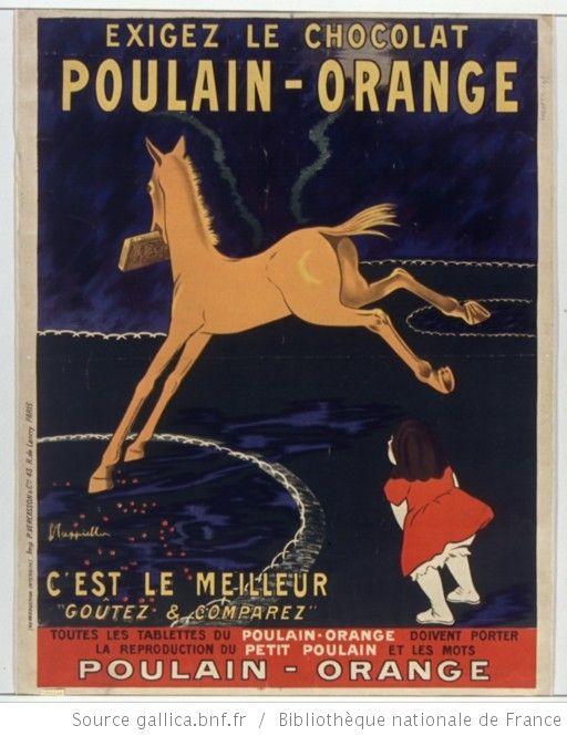Exigez le chocolat Poulain orange, c'est le meilleur... : [affiche] / [Leonetto Cappiello] - 1